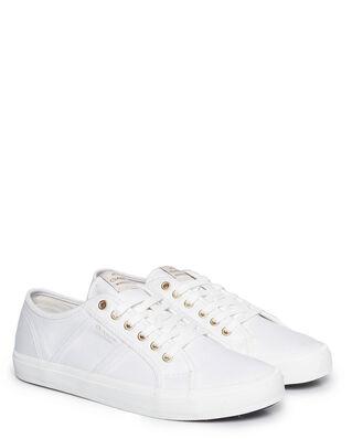 Gant Pinestreet Low laceshoes White
