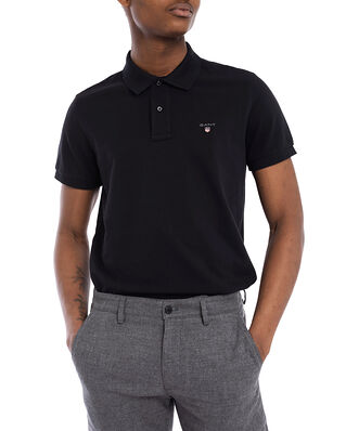 Gant The original pique SS rugger black