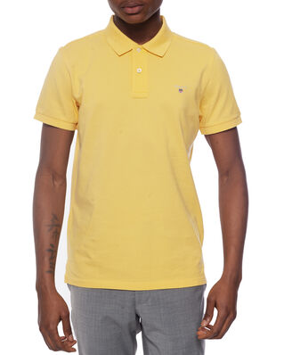 Gant The Original Pique Ss Rugger Mimosa Yellow