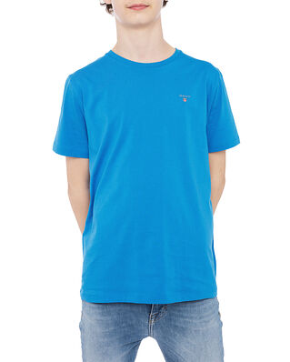 Gant The Original SS T-shirt Clear Blue