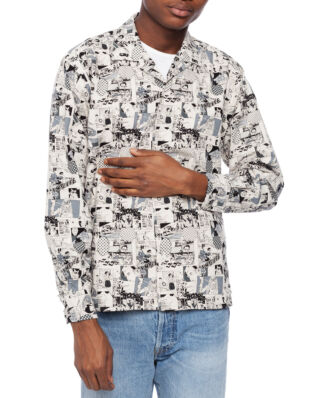 Gitman Vintage Anime Cotton/Winter Linen Camp Shirt Anime