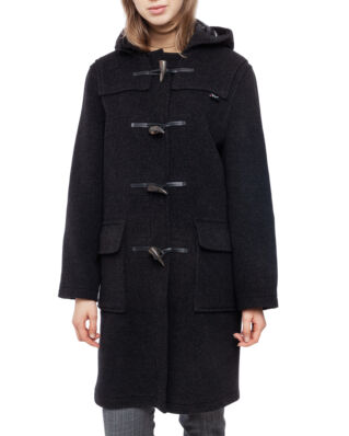 Gloverall Ladies Classic Dufflecoat Charcoal