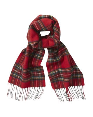 Gloverall Lambswool Scarf Royal Stewart