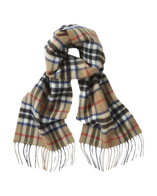 Gloverall Lambswool Scarf Thompson Camel