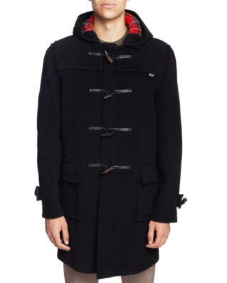 Gloverall Morris Duffle Coat Black Stewart