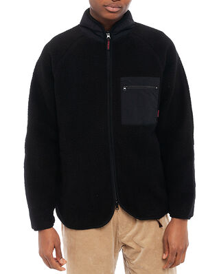 Gramicci Boa Fleece Jacket Black