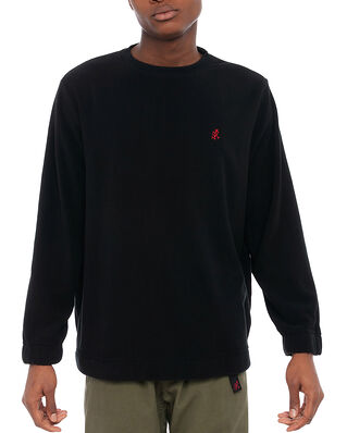 Gramicci Fleece Crew Neck Black