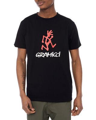 Gramicci Logo Tee Black