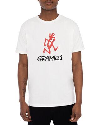 Gramicci Logo Tee White
