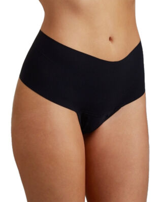 Hanky Panky Bare Godiva High Rise Thong Black