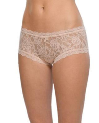 Hanky Panky Boyshort signature lace chai underwear