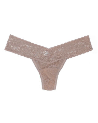 Hanky Panky Low Rise Thong Signature Lace Chai