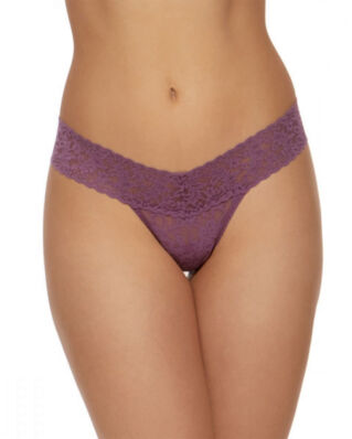 Hanky Panky Low Rise Thong Cotton Electric Orchid