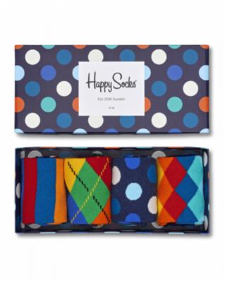Happy Socks 4-Pack Pop Gift Box