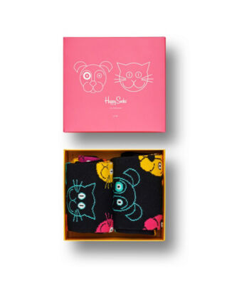 Happy Socks Cat VS Dog Gift Box