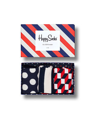 Happy Socks Classic Stripe Gift Box