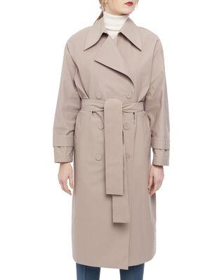 Harris Wharf London Women oversized trench coat Light Technic Camel