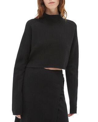 Helmut Lang Compact Wool Tnk Black
