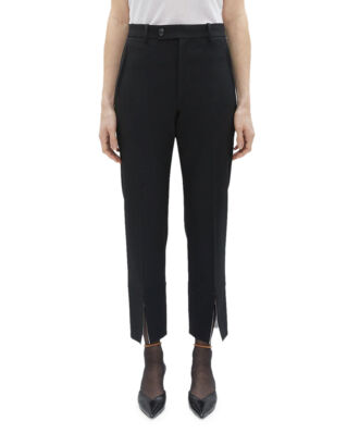 Helmut Lang Front Slit Suit Pant Black