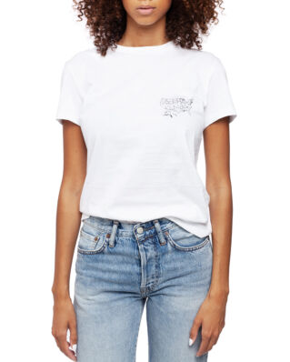 Helmut Lang Helmut Laws T-shirt Chalk White