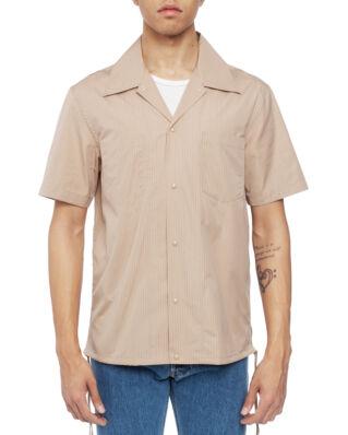 Helmut Lang Tie Strap SS Shirt Sesame Multi