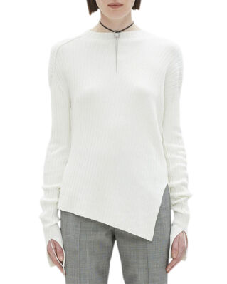 Helmut Lang Twisted Crew.Twisted White
