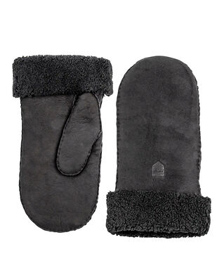 Hestra Sheepskin Mitt Black