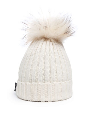 Hollies Pom Pom Classic Hat White/White
