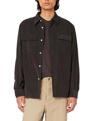 Hope Base Over Shirt Faded Black