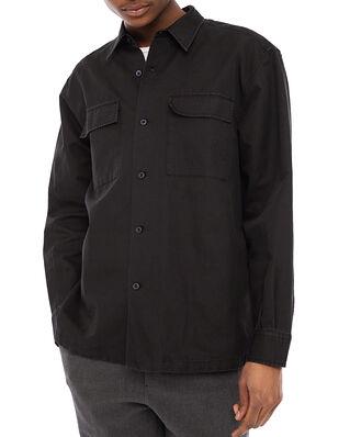 Hope Base Overshirt Washed Black