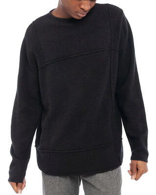 Hope Cut Sweater Faded Black