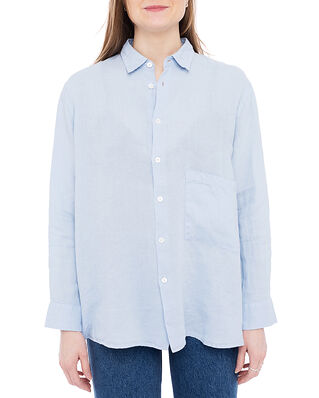 Hope Elma Linenshirt Shirt Blue