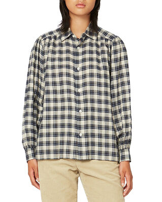 Hope Lush Shirt Blue Check