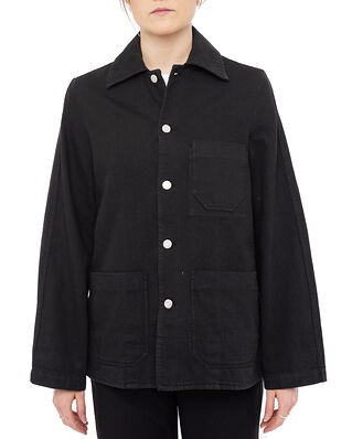 Hope Worker Jacket Washed Black