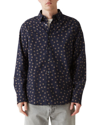 Hope Air Clean Shirt Big Dot Dk Blue