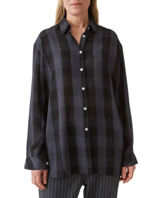 Hope Elma Shirt Dk Grey Check