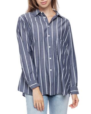 Hope Elma Shirt Dk Navy Stripe