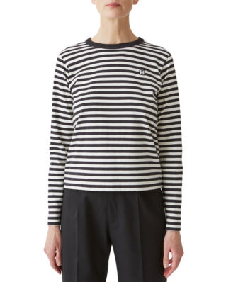 Hope First LS Tee Black Stripe
