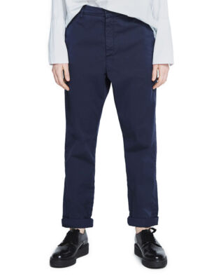 Hope News Trousers Dk Blue