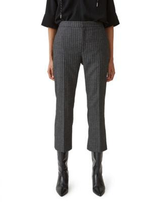 Hope Note Trousers Grey Stripe