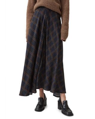 Hope Vision Skirt Dk Blue Chain Print