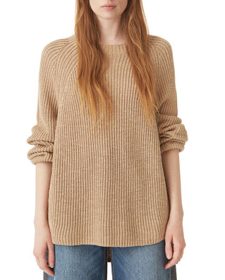 Hope Blank Sweater Oat Beige