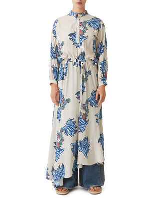 Hope Chance Dress Blue Paisley Print