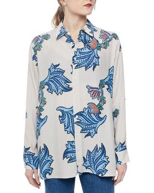 Hope Elma Shirt Blue Paisley Print