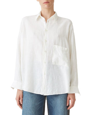 Hope Elma Linen Shirt Off White