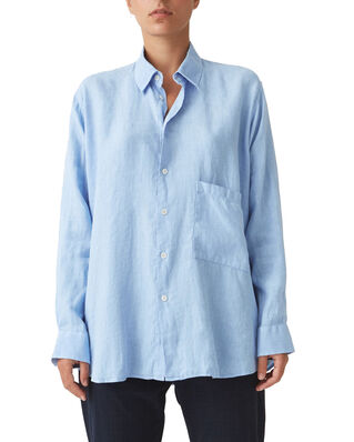 Hope Elma Linen Shirt Blue