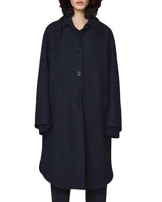 Hope Haze Coat Dk Navy Wool