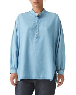 Hope Key Shirt Lt Blue Denim