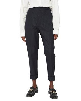 Hope Law Trouser Dk Navy Lurex Stripe
