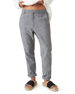 Hope News Trousers Black Stripe